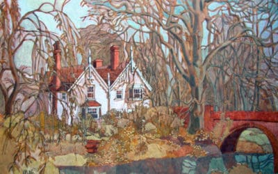 Painting Blunden's Last Home